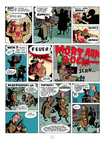 Page 2 Spirou et Fantasio  tome 5 - le groom vert-de-gris