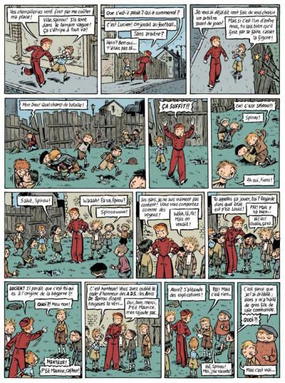 Page 2 spirou et fantasio  tome 4 - le journal d'un ingénu