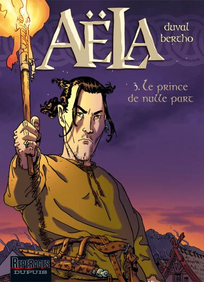 Couverture aëla tome 3 - le prince de nulle part