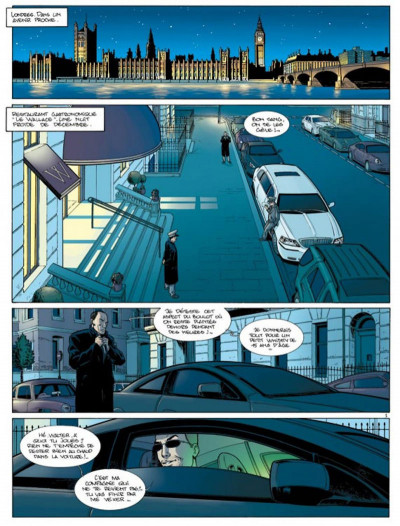 Page 1 damoclès tome 1 - protection rapprochée