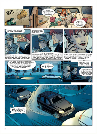 Page 6 damoclès tome 1 - protection rapprochée