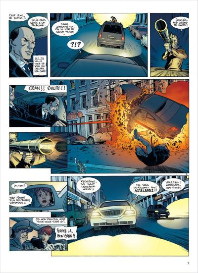 Page 7 damoclès tome 1 - protection rapprochée