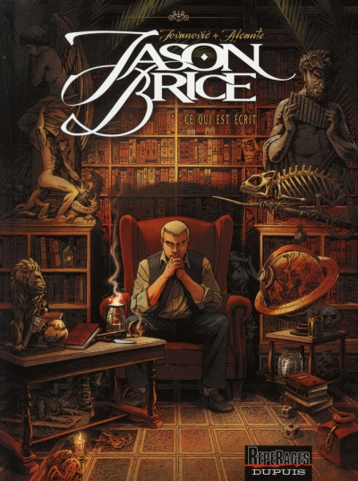 Couverture Jason Brice tome 1 - ce qui est écrit