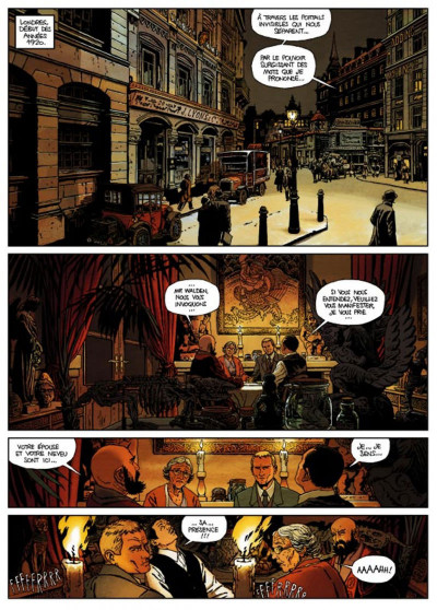 Page 1 Jason Brice tome 1 - ce qui est écrit