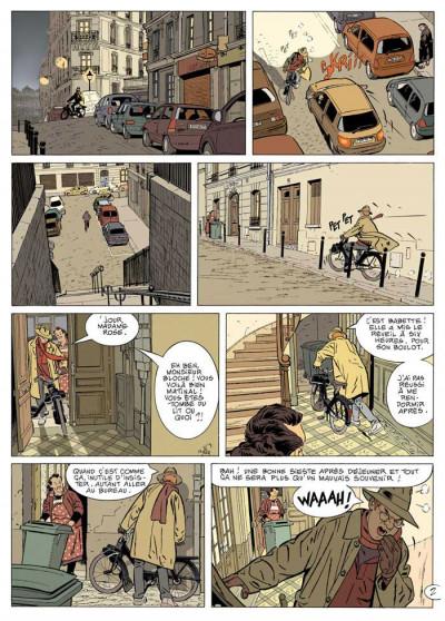 Page 2 jérôme k. jérôme bloche tome 21 - déni de fuite