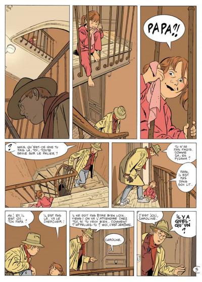 Page 3 jérôme k. jérôme bloche tome 21 - déni de fuite