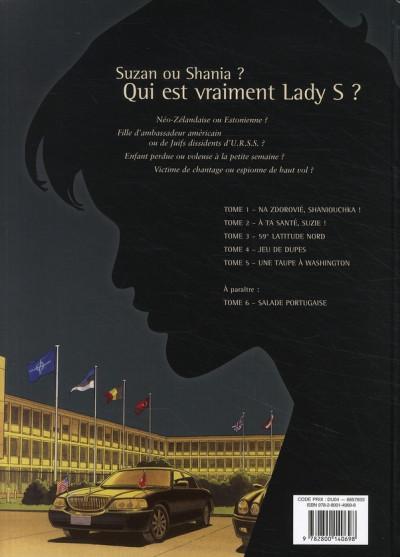 Dos lady s. tome 5 - une taupe à washington