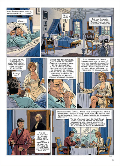 Page 5 lady s. tome 5 - une taupe à washington