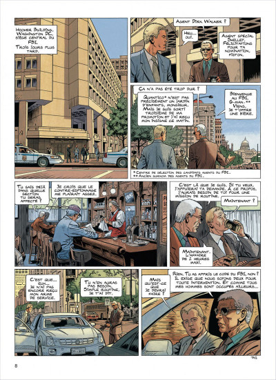 Page 8 lady s. tome 5 - une taupe à washington