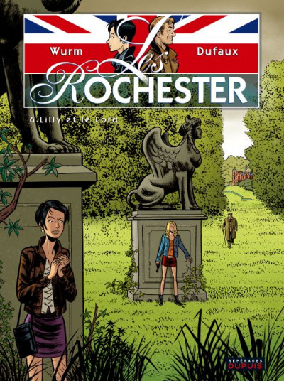 Couverture les rochester tome 6 - lilly et le lord