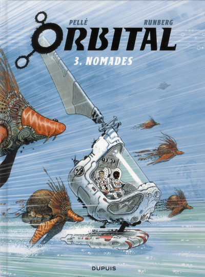 Couverture orbital tome 3 - nomades