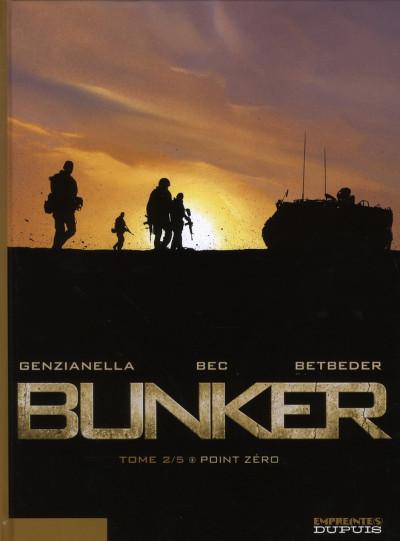Couverture bunker tome 2 - point zéro