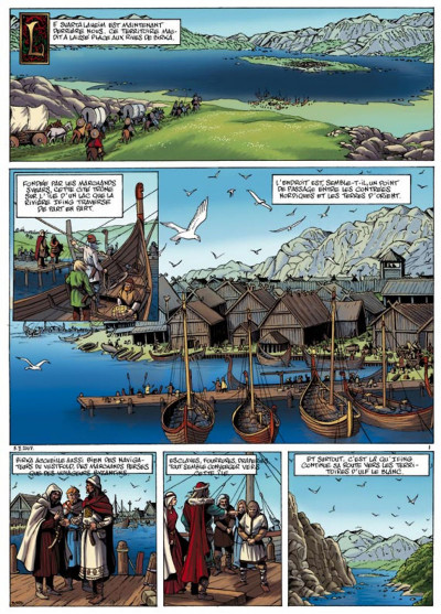 Page 1 hammerfall tome 3 - les gardiens d'elivagar