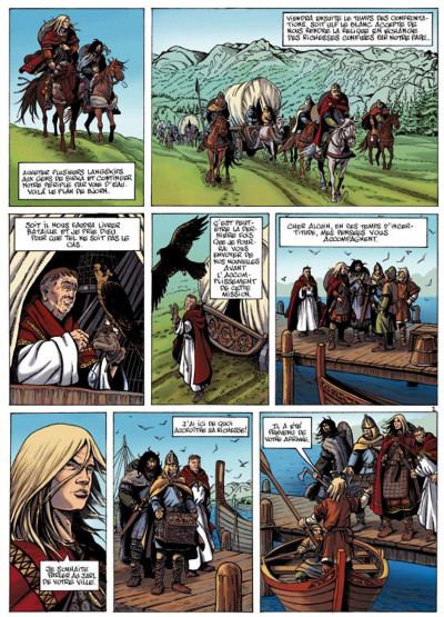 Page 2 hammerfall tome 3 - les gardiens d'elivagar