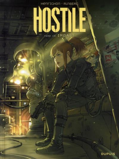 Couverture hostile tome 1 - impact