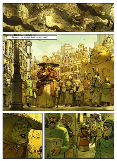 Page 1 hostile tome 1 - impact