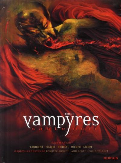 Couverture vampyres sable noir tome 1