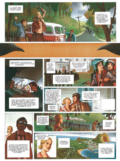 Page 1 vampyres sable noir tome 1