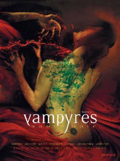 image de vampyres sable noir tome 2