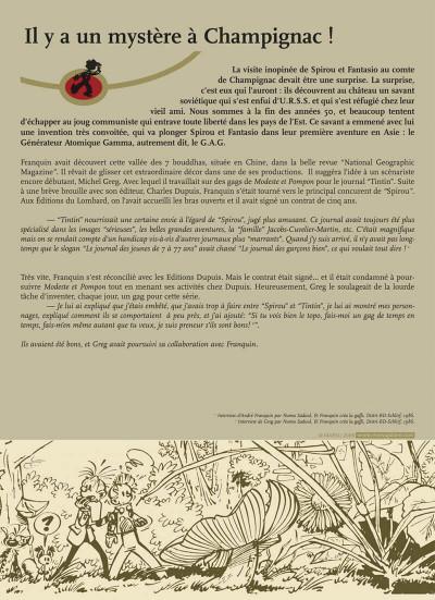 Page 5 spirou et fantasio - intégrale tome 6 - inventions maléfiques
