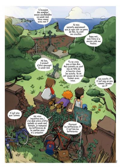 Page 1 Les enfants d'ailleurs - intégrale tome 1