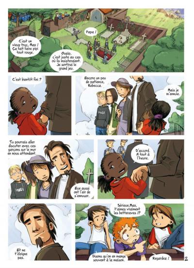 Page 2 Les enfants d'ailleurs - intégrale tome 1
