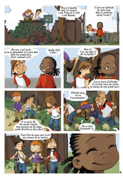 Page 4 Les enfants d'ailleurs - intégrale tome 1