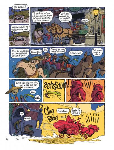 Page 8 brigade fantôme tome 2 - le chevalier bagär