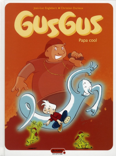 Couverture gusgus tome 2 - papa cool