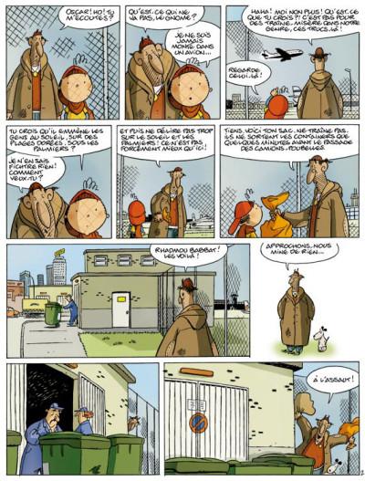 Page 2 oscar tome 4 - le roi des bobards