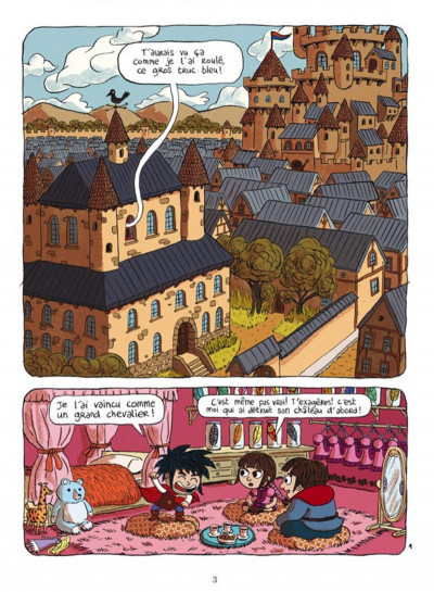 Page 1 prince gédéon tome 2 - touche pas à mon exploit !