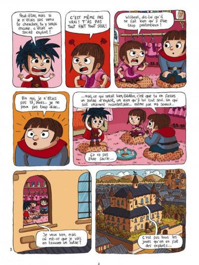 Page 2 prince gédéon tome 2 - touche pas à mon exploit !