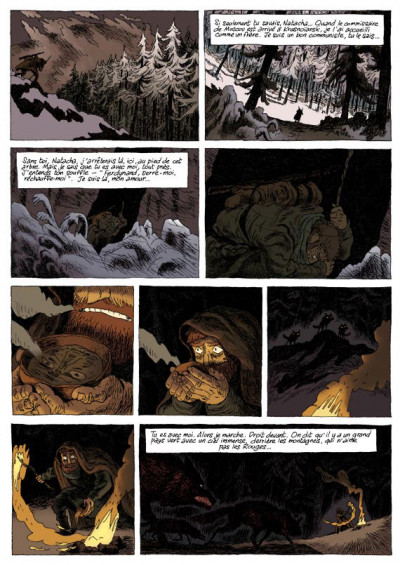 Page 2 taïga rouge tome 1