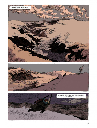 Page 3 taïga rouge tome 1