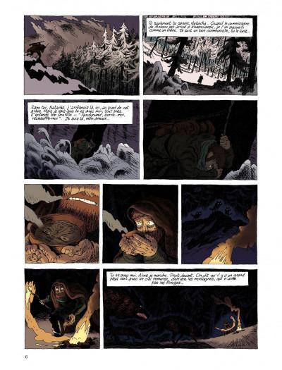 Page 4 taïga rouge tome 1
