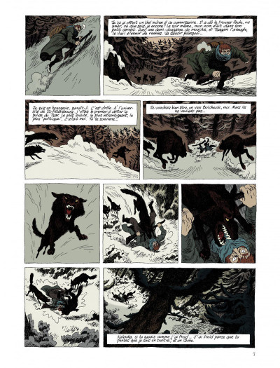 Page 5 taïga rouge tome 1