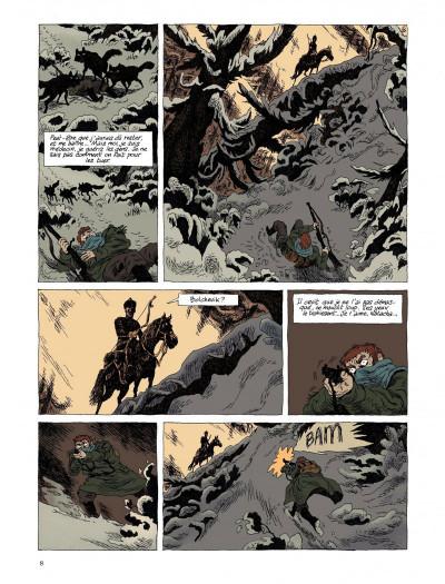 Page 6 taïga rouge tome 1