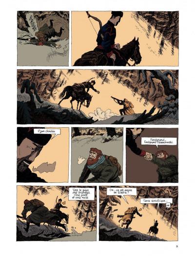 Page 7 taïga rouge tome 1