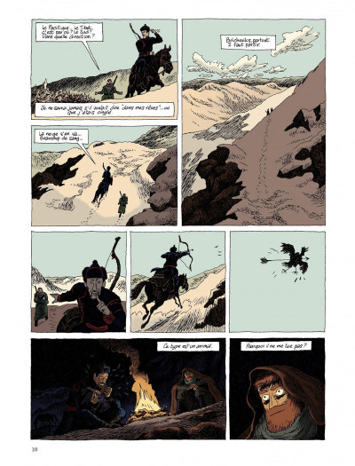 Page 8 taïga rouge tome 1