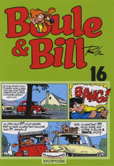Couverture Boule et Bill tome 16