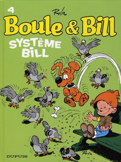 Couverture boule et bill tome 4 - système bill