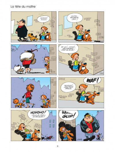 Page 3 boule et bill tome 4 - système bill