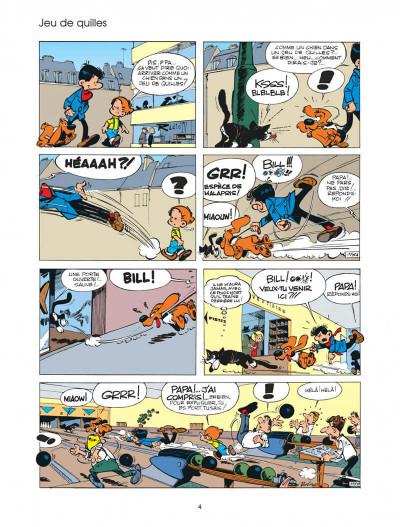 Page 4 boule et bill tome 4 - système bill