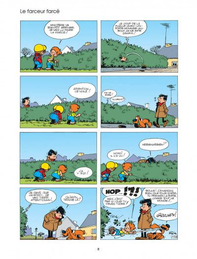 Page 8 boule et bill tome 4 - système bill