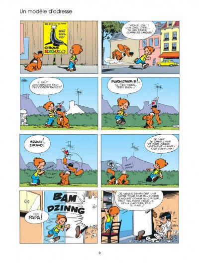 Page 9 boule et bill tome 4 - système bill