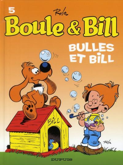 Couverture boule et bill tome 5 - bulles et bill