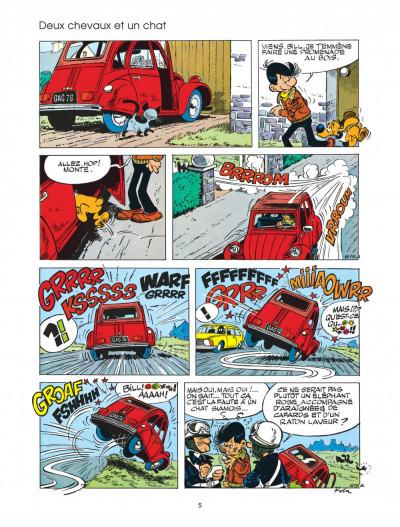 Page 5 boule et bill tome 20 - bill, nom d'un chien!