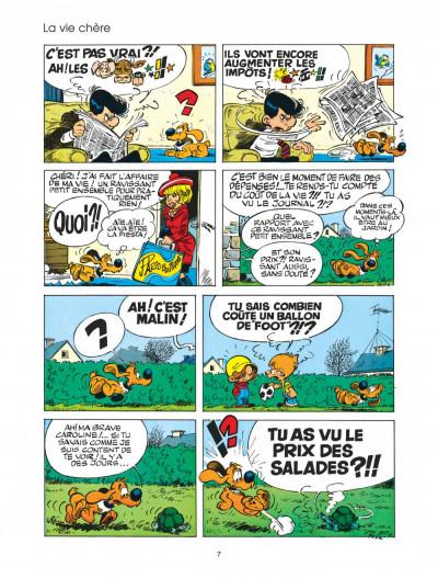 Page 7 boule et bill tome 20 - bill, nom d'un chien!
