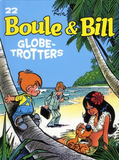 Couverture boule et bill tome 22 - globe-trotters