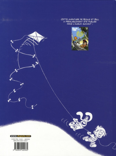 Dos boule et bill tome 22 - globe-trotters